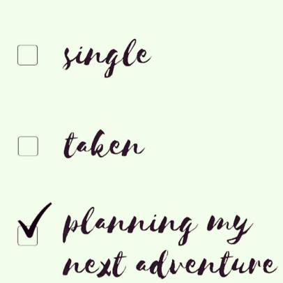planning my next adventure