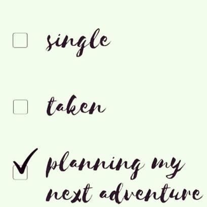 planning my next adventure