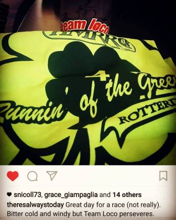 runnin of the green 2017 march
