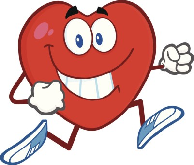 Happy Running Heart