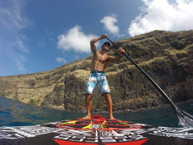 become a balanced runner - paddle board