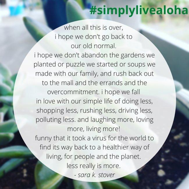 #simplylivealoha
